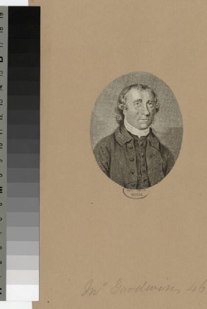 Portrait of J. Goodwin