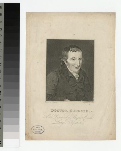 Portrait of Doctor Goodsir