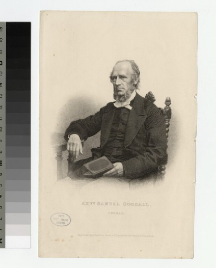 Portrait of S. Goodall