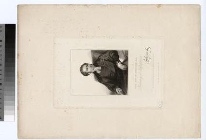 Portrait of Revd W. Gresley