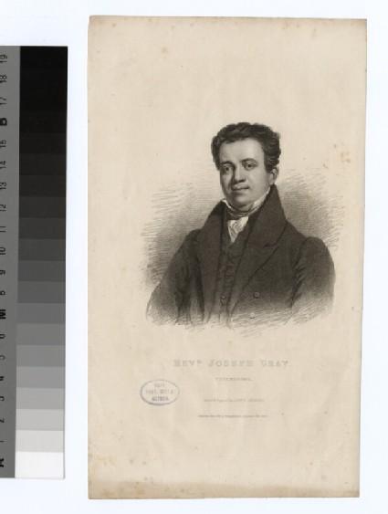 Portrait of J. Gray