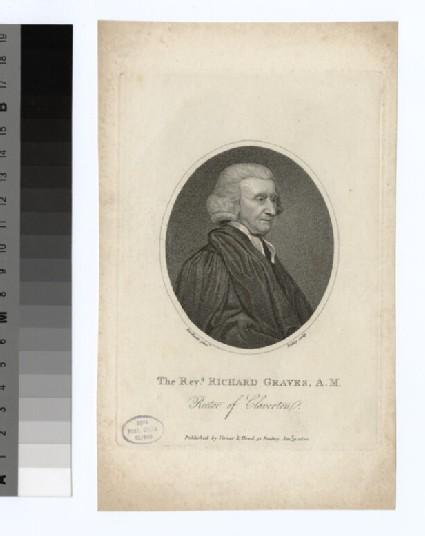 Portrait of Revd R. Graves