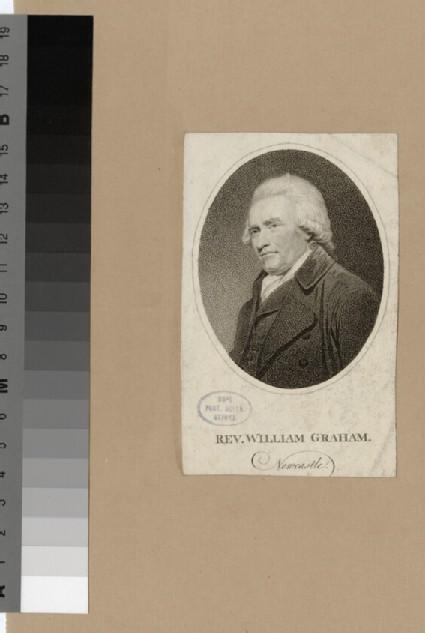 Portrait of W. Graham