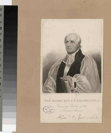 Portrait of A. V. Griswold