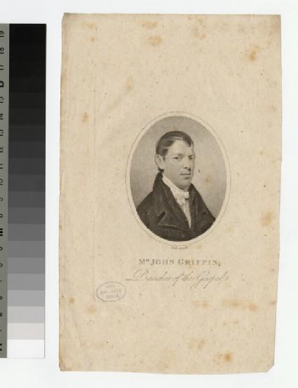 Portrait of J. Griffin