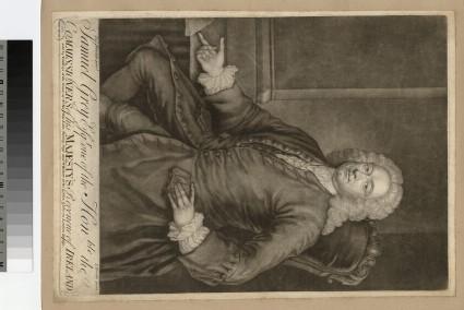 Portrait of Samuel Grey