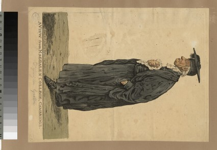 Portrait of Revd Dr William Gretton