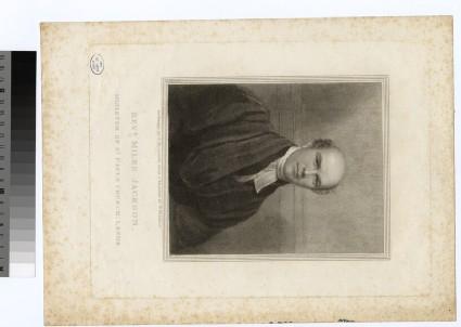 Portrait of Revd Miles Jackson