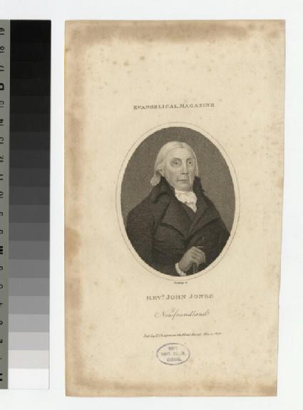 Portrait of J. Jones