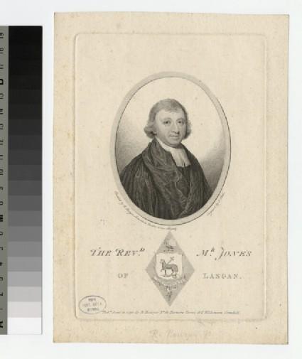 Portrait of Mr Jones