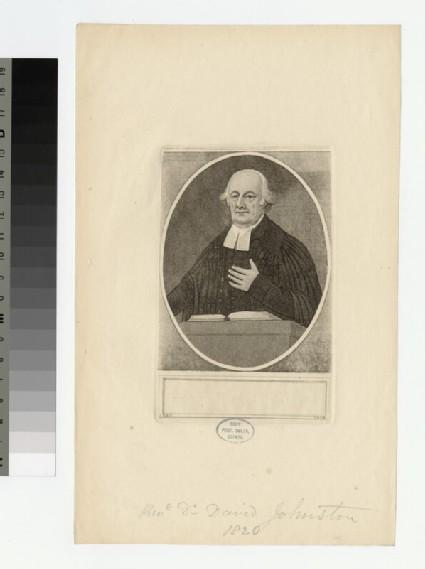 Portrait of D. Johnston