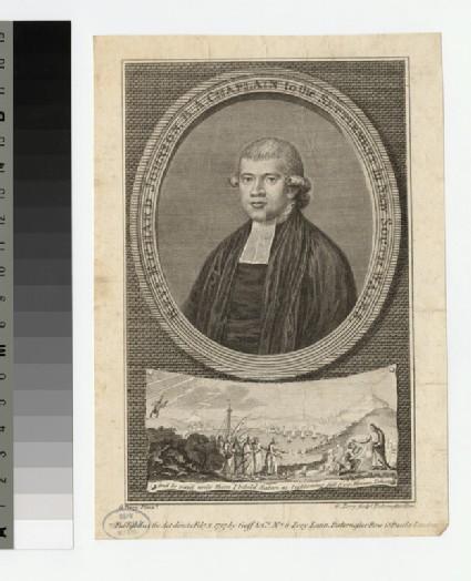 Portrait of Revd Richard Johnson