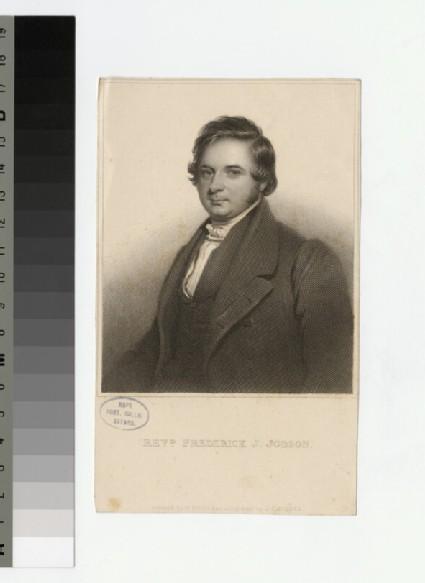 Portrait of F. J. Jobson