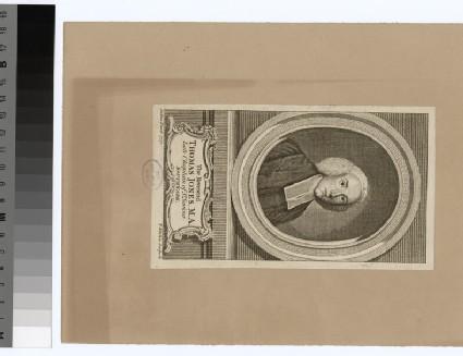 Portrait of Revd Thomas Jones