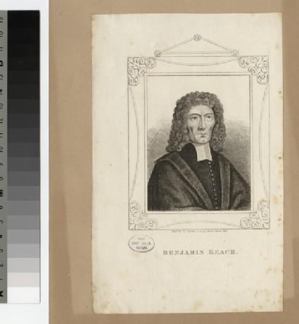 Portrait of Benjamin Keach