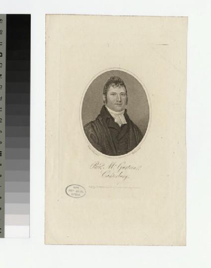 Portrait of Mr Gurteen