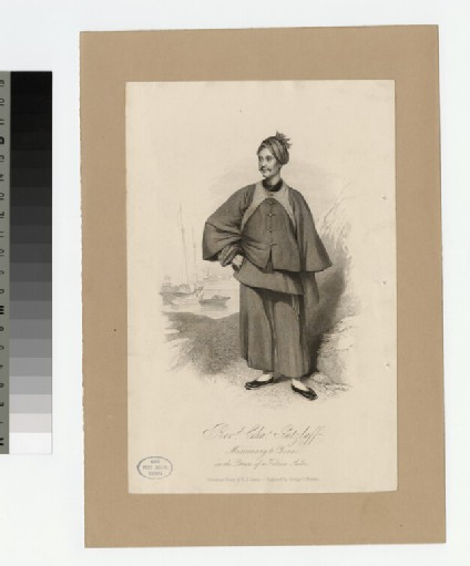 Portrait of C. Gutzlaff