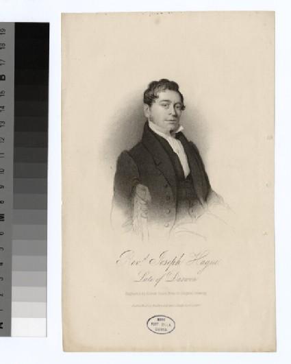 Portrait of J. Hague