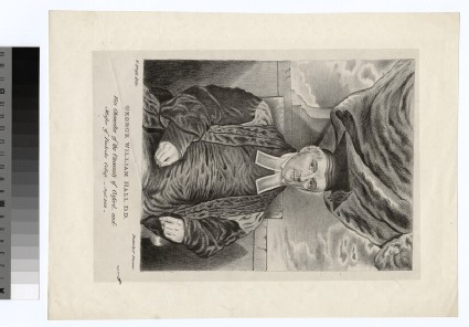 Portrait of G. W. Hall