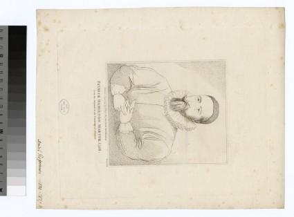 Portrait of P. Hamilton