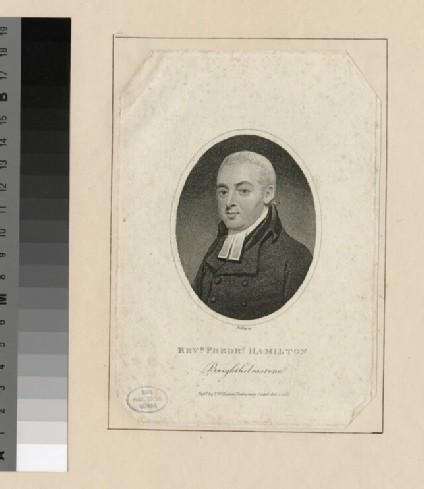 Portrait of F. Hamilton