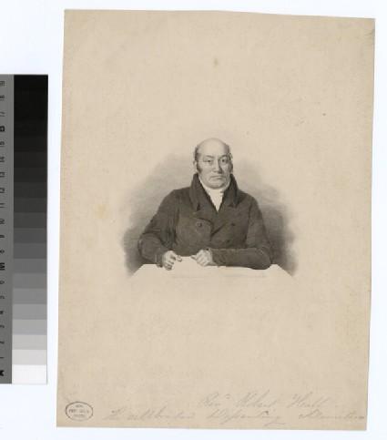 Portrait of R. Hall