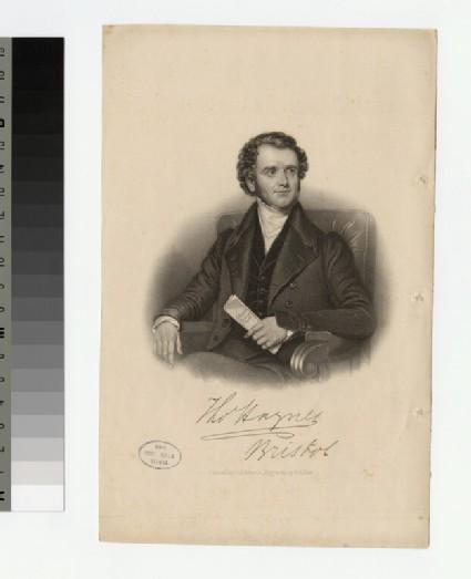 Portrait of T. Hughes