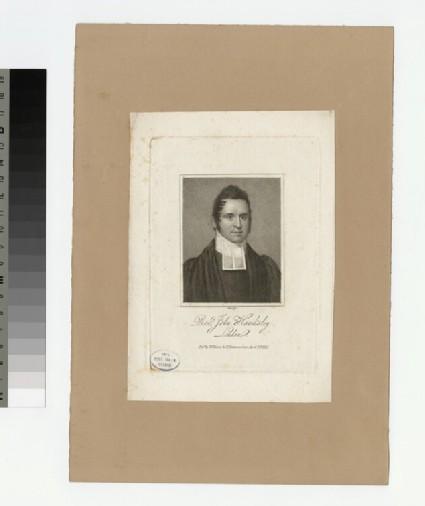 Portrait of J. Hawksley