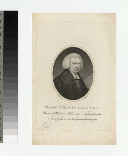 Portrait of Thomas Haweis