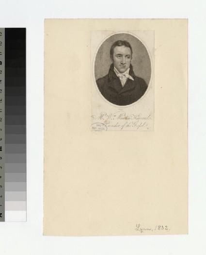 Portrait of W. M. Harvard