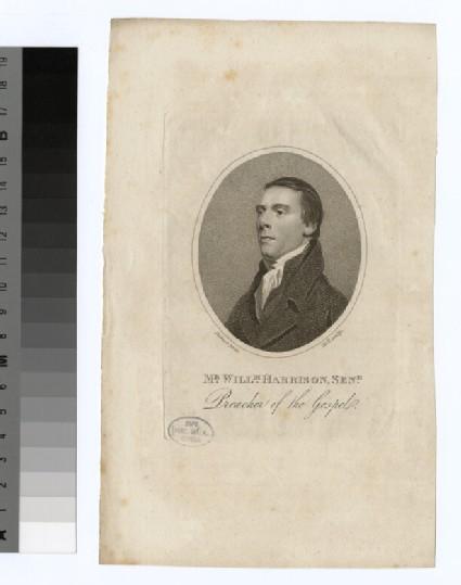 Portrait of W. Harrison