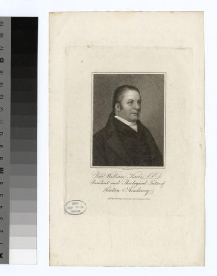 Portrait of W. Harris