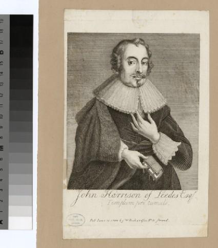 Portrait of J. Harrison