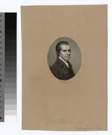 Portrait of W. Heath