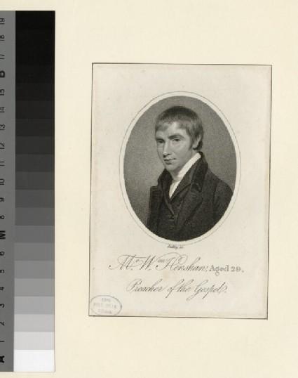 Portrait of W. Henshaw