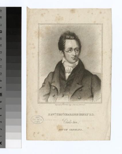 Portrait of T. C. Henry