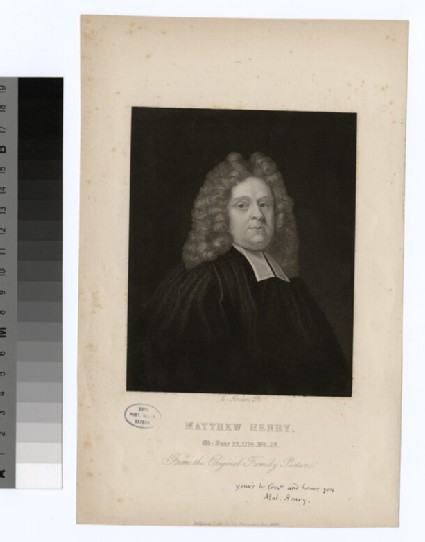 Portrait of M. Henry