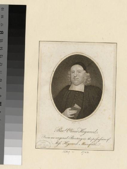 Portrait of O. Heywood