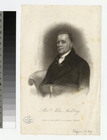 Portrait of J. Hickling