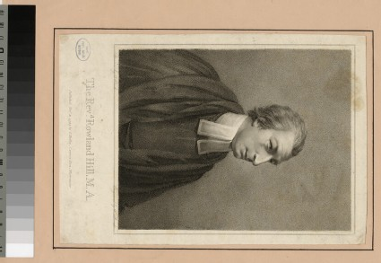 Portrait of Revd R. Hill