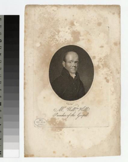 Portrait of W. Hill