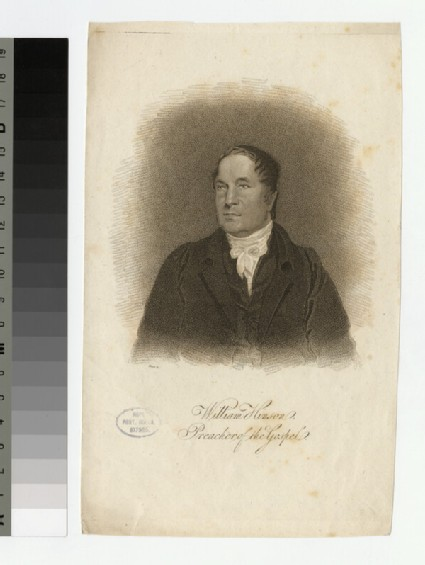Portrait of W. Hinson