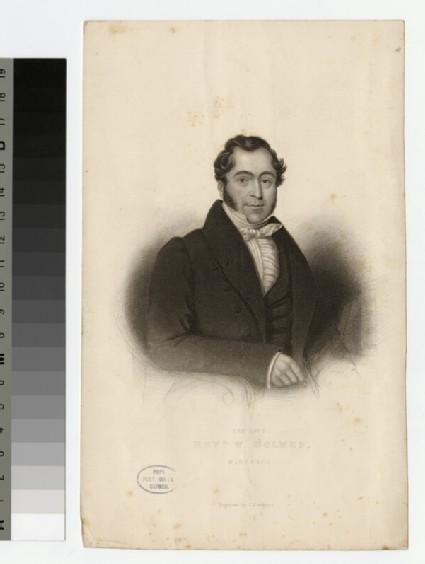 Portrait of W. Holmes