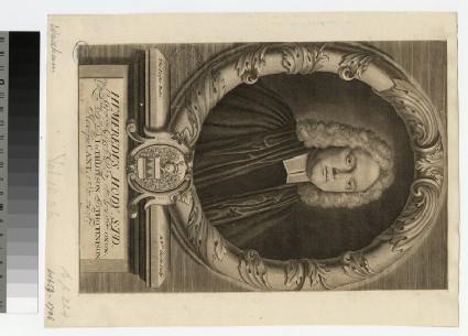 Portrait of Revd H. Hody