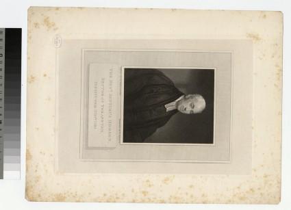 Portrait of Revd S. Hodson