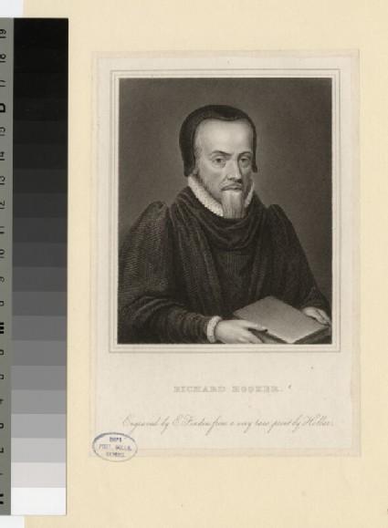 Portrait of Revd Dr R. Hooker