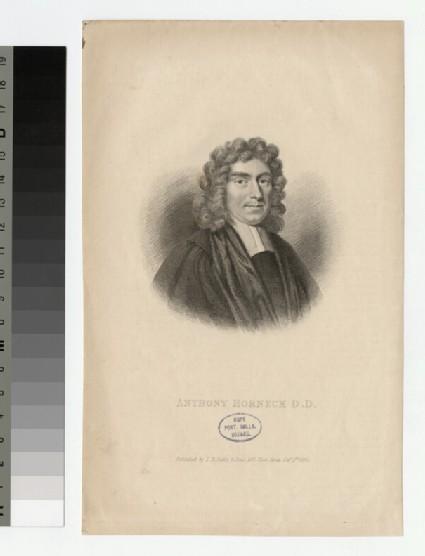 Portrait of A. Horneck