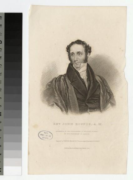 Portrait of J. Hoppus