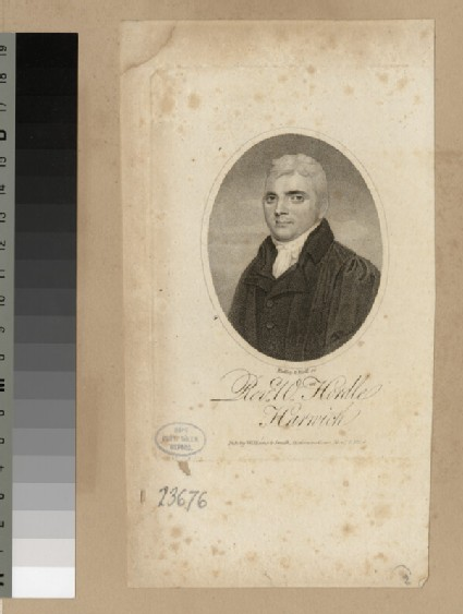 Portrait of W. Hordle