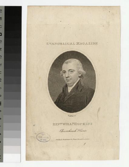 Portrait of Revd W. Hopkins